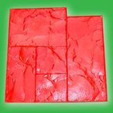 彩色混凝土压花地坪模具