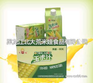 盒装原味玉米汁