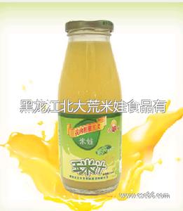瓶装原味玉米汁