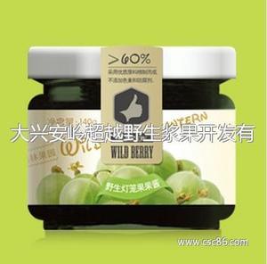 野生灯笼果果酱 绿色有机食品 瓶装