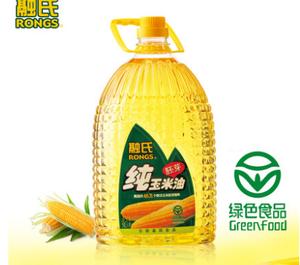 融氏食用油 纯玉米胚芽油5L特级初榨非转基因油