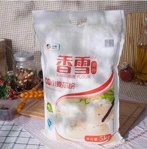 香雪 通用小麦芯粉5kg 中筋面粉 通用面粉