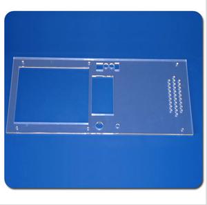 有机玻璃/亚克力机器面板,酒店空白面板20*30*3毫米