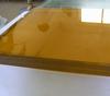 厂家定做8mm金茶色玻璃热弯夹胶玻璃规格齐