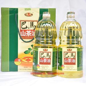 广西巴马山茶油一级物理压榨桂元3.6L野生有机山茶油食用油