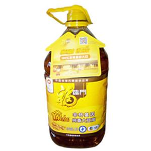 福临门100%非转基因大豆油 5L纯香大豆油