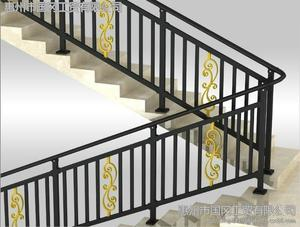 惠州联美直销锌钢楼梯扶手 包安装