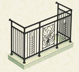 厂家直销锌钢阳台护栏 大批量免费安装