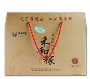 禾和稼东北大米新米生态有机米五常稻花香大米礼盒