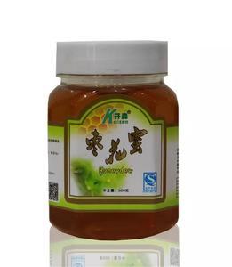 开森枣花蜜 东北特产椴树原蜜 野生土蜂蜜500g