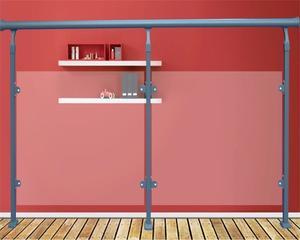 玻璃栏杆就选惠州联美锌钢护栏