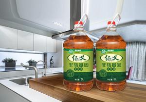 仁义三级非转基因大豆油5L  绿色食品