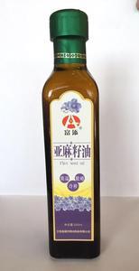 富添  亚麻籽油 瓶装250ml   东北特产