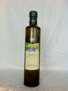 富添  亚麻籽油 兰西特产500ml