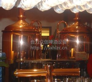 新疆自酿啤酒设备500L,啤酒设备配件,啤酒原料