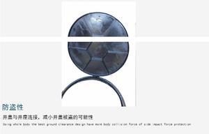球墨铸铁井盖优质厂家市政雨水污水通信圆形窨井盖