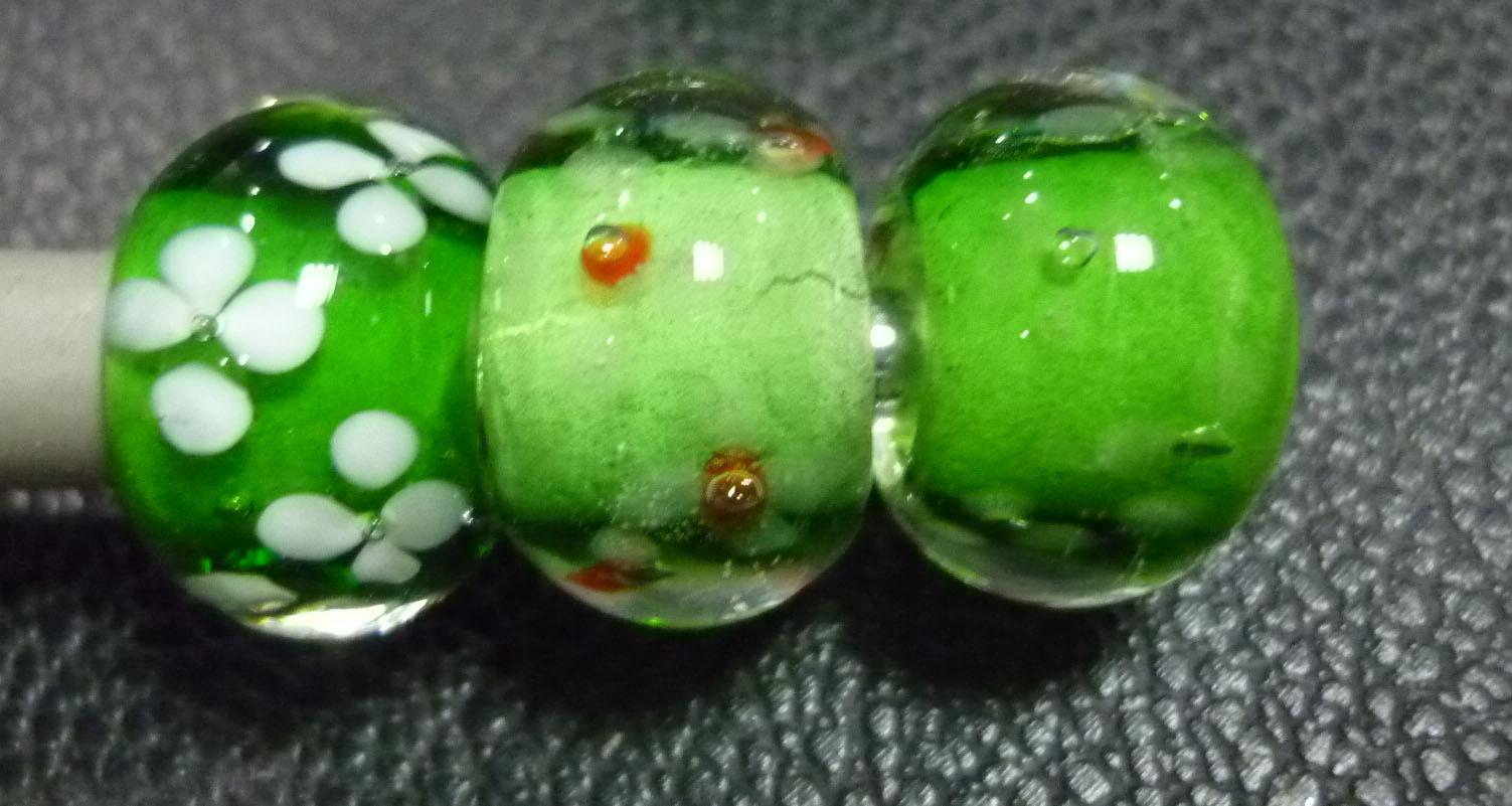 琉璃珠、潘多拉珠子图片四