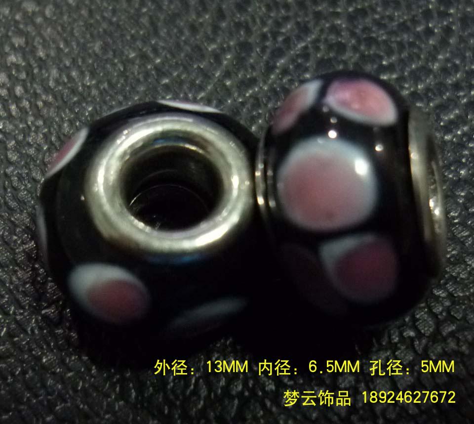 潘多拉珠子 大孔琉璃珠 硬料、软料千花图片四