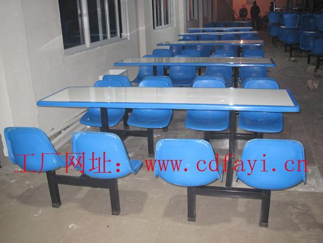 不锈钢餐桌椅,食堂餐桌椅,学生食堂餐桌椅,图片一