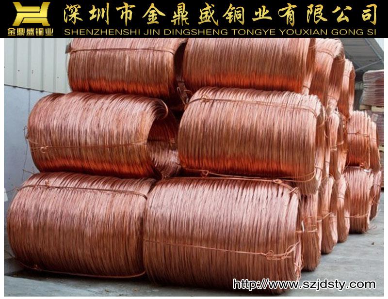 厂家直销无氧铜 铜包铜 品质保证 亮色图片三