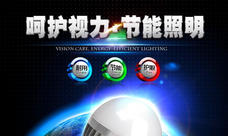 LED车铝3W球泡灯 LED球泡灯 螺口E27 节图片一