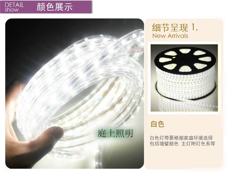 LED灯带 超亮防水5050灯珠灯带 LED节能软图片四