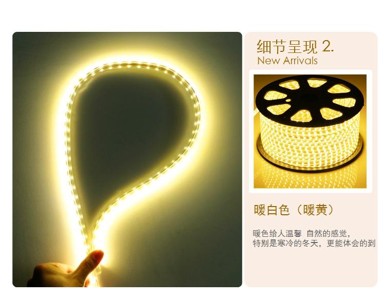 LED灯带 超亮防水5050灯珠灯带 LED节能软图片五