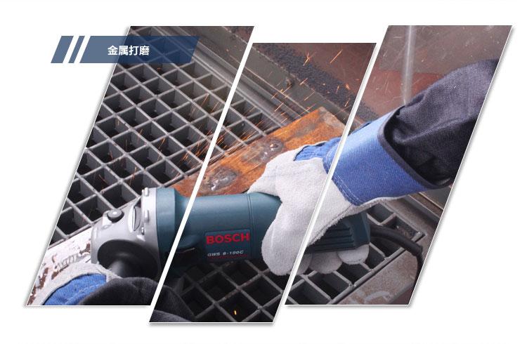 博世850瓦角磨机角向磨光机GWS 8-100 C图片三