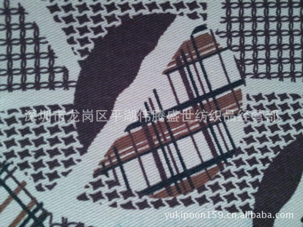 印花布 全棉印花 全棉数码印花厨卫纺织品3130-5图片一