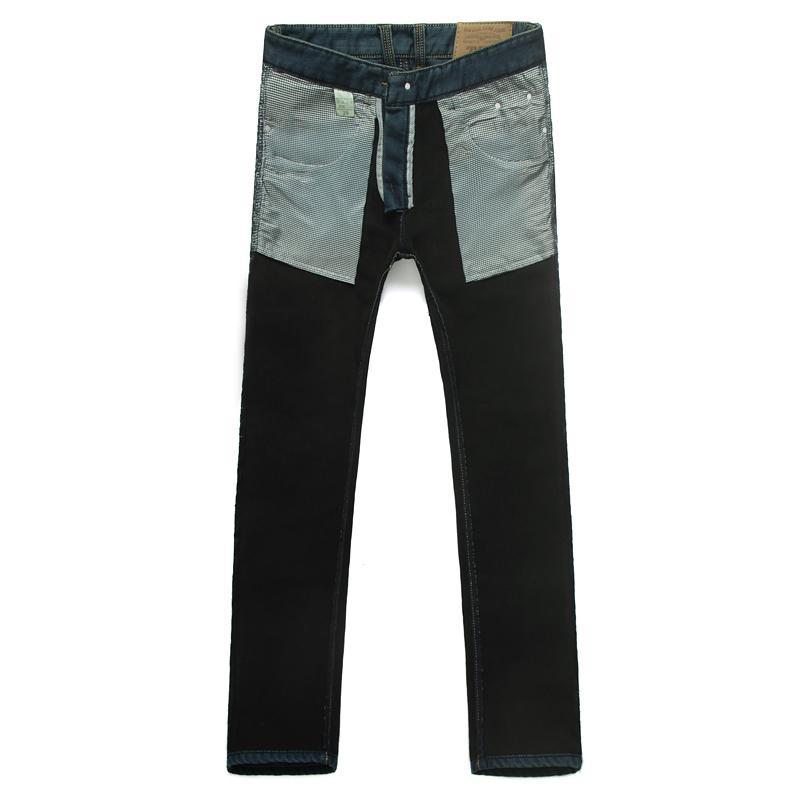 批发加绒牛仔裤男 加厚修身牛仔长裤 批发零售图片六
