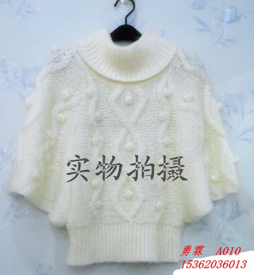 女装新潮蝙蝠毛衣 针织衫图片一