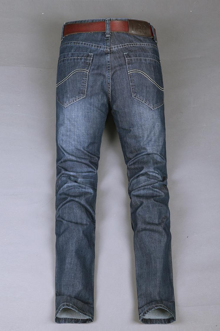 lee牛仔裤品牌 修身男式牛仔裤 男装新款图片二