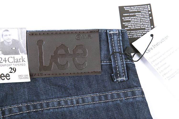 lee牛仔裤品牌 修身男式牛仔裤 男装新款图片一