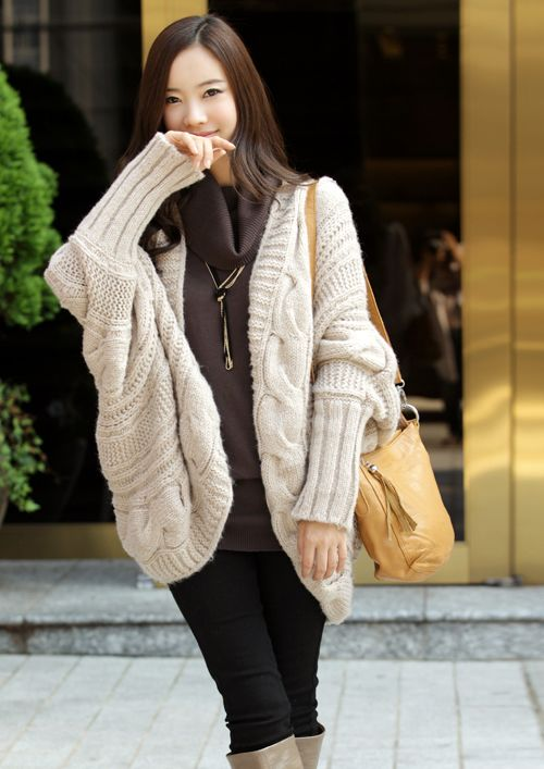 秋冬女装韩版开衫金丝边马海 毛毛衣外套 针织衫图片四
