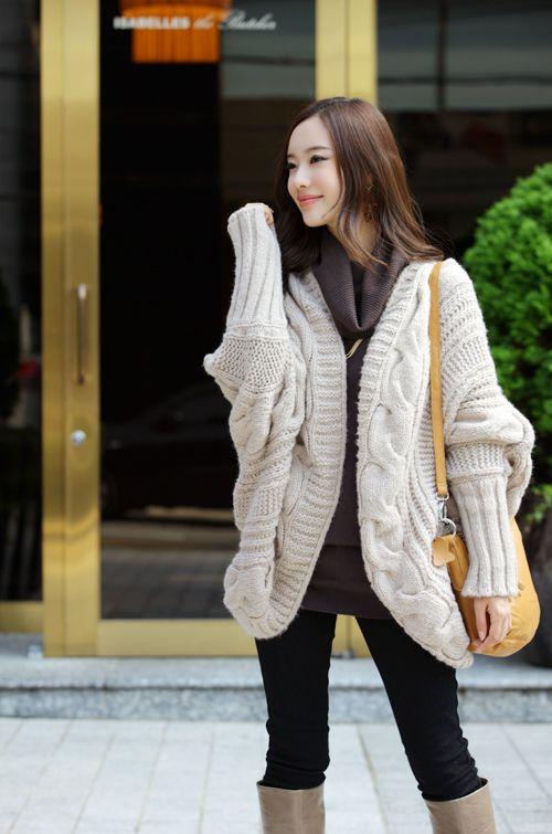 秋冬女装韩版开衫金丝边马海 毛毛衣外套 针织衫图片八