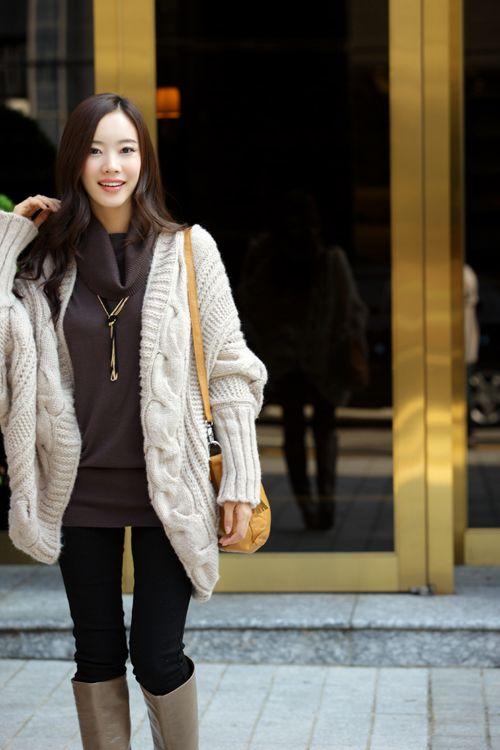 秋冬女装韩版开衫金丝边马海 毛毛衣外套 针织衫图片三
