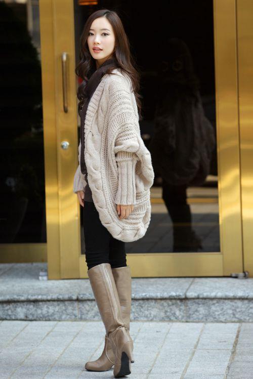 秋冬女装韩版开衫金丝边马海 毛毛衣外套 针织衫图片七