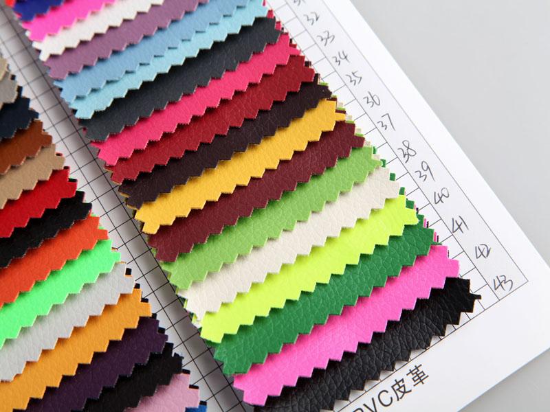 厂价直销DE90小荔枝纹PVC人造革/合成革图片三