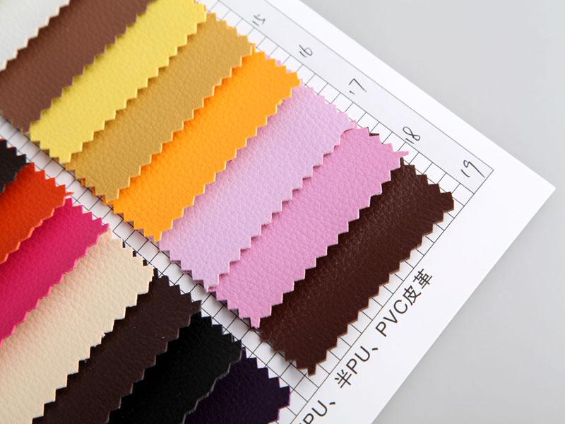 厂价直销R-857小荔枝纹PVC革/PVC人造革图片四