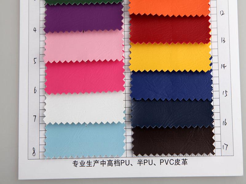 厂价直销512纹手掌纹PVC人造革/合成革图片三