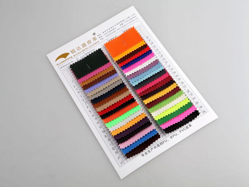 厂价直销DE90小荔枝纹PVC人造革/合成革图片二