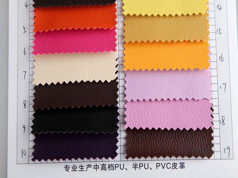 厂价直销R-857小荔枝纹PVC革/PVC人造革图片三