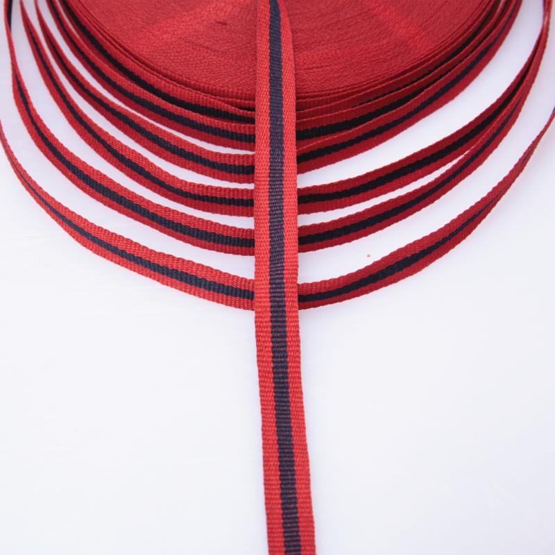 厂家专业生产 1.2cm2色织带 条纹织带图片三