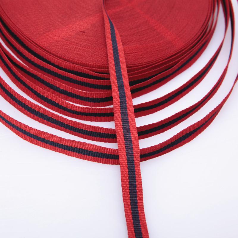 厂家专业生产 1.2cm2色织带 条纹织带图片二
