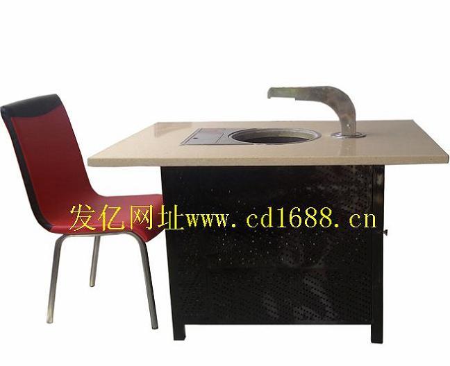 火锅餐桌 电磁炉火锅餐桌 火锅桌椅价格图片二