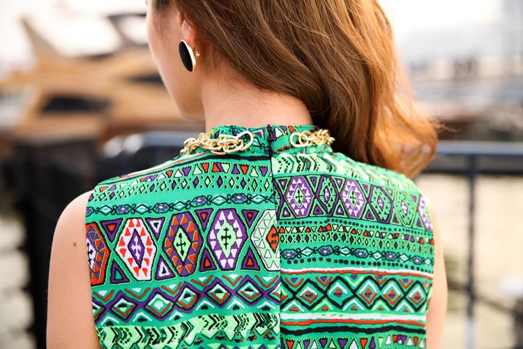 2014热卖夏季 原创女装设计波西米亚长裙新款连衣裙A362图片八