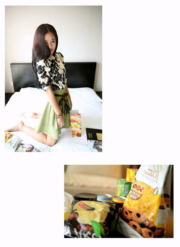 2014韩版明星同款 女装裙子连衣裙 夏季实体批发B355图片五