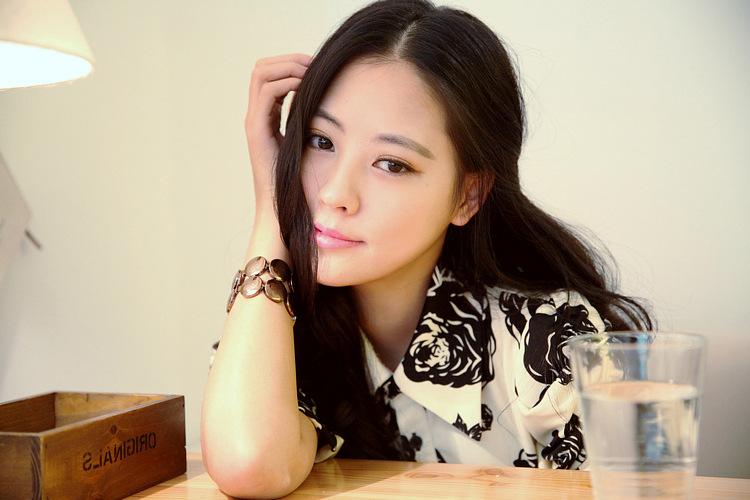 2014韩版明星同款 女装裙子连衣裙 夏季实体批发B355图片八