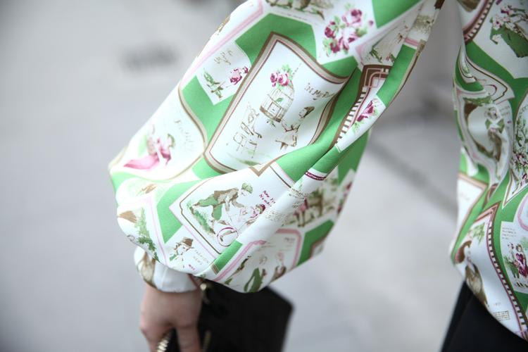 厂家一手货源2014专柜高档春装新款品牌女装连衣裙A335图片七