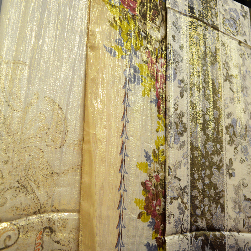 披肩、围巾、蚕丝、时尚印花图片四